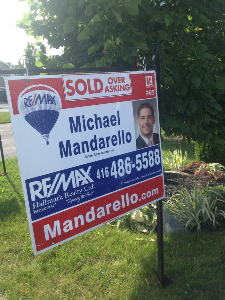 Photo: SOLD by by Michael Mandarello, RE/MAX Agent