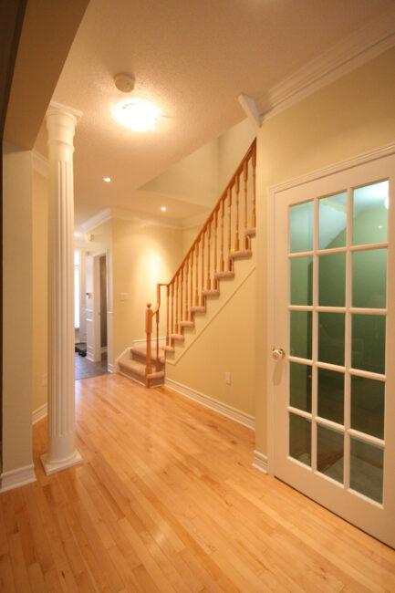 Photo: Main floor hallway/staircase