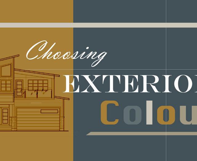 Design Week: The Exterior – Colour choice craziness!