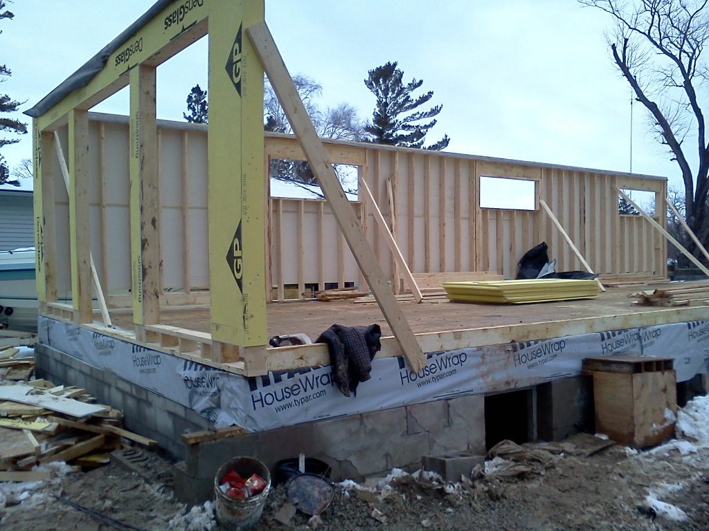 First floor going up