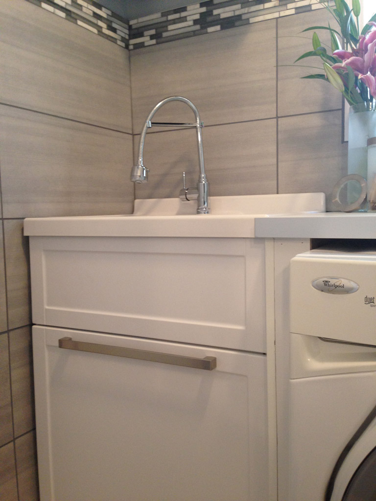 Project Santa Laundry room reveal GIVEAWAY The Dreamhouse Project