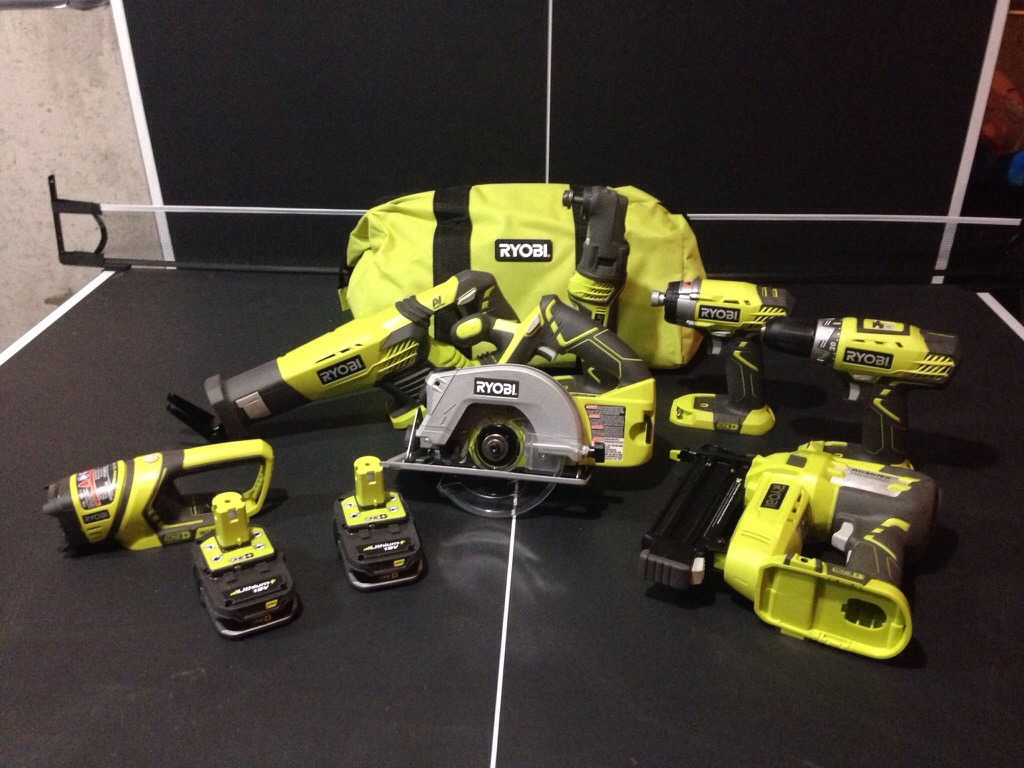 We're in power tool heaven….Introducing RYOBI Tools!