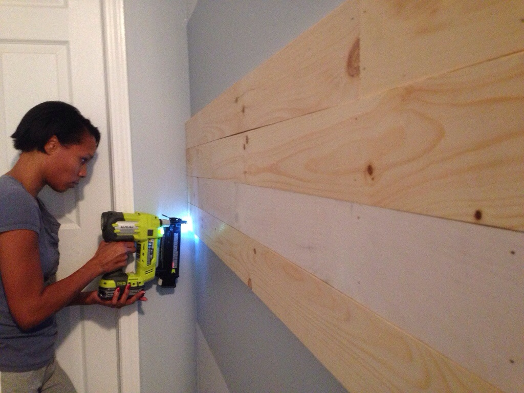 LOVE this Ryobi 18V ONE+ nailer!