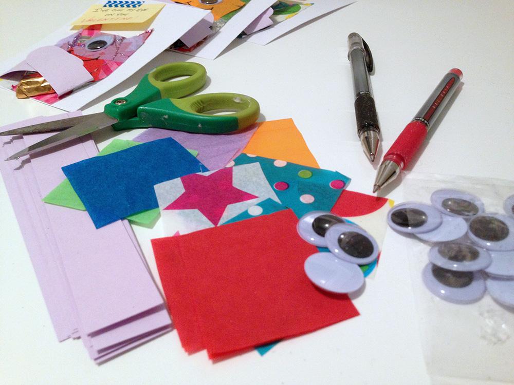 Valentine craft supplies
