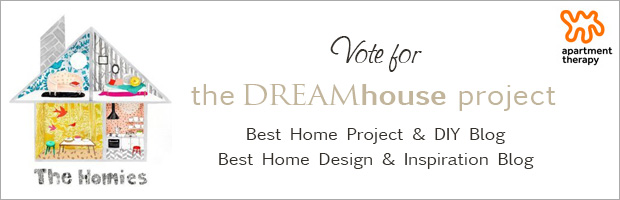 Vote for us in the 2014 Apartment Therapy Homies!