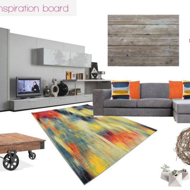 The making of a family room [Inspiration board]