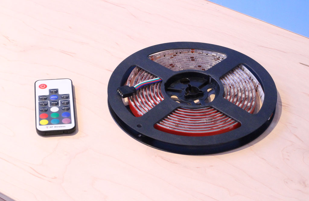 LED strip lighting kit