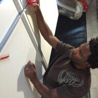 Measuring panels