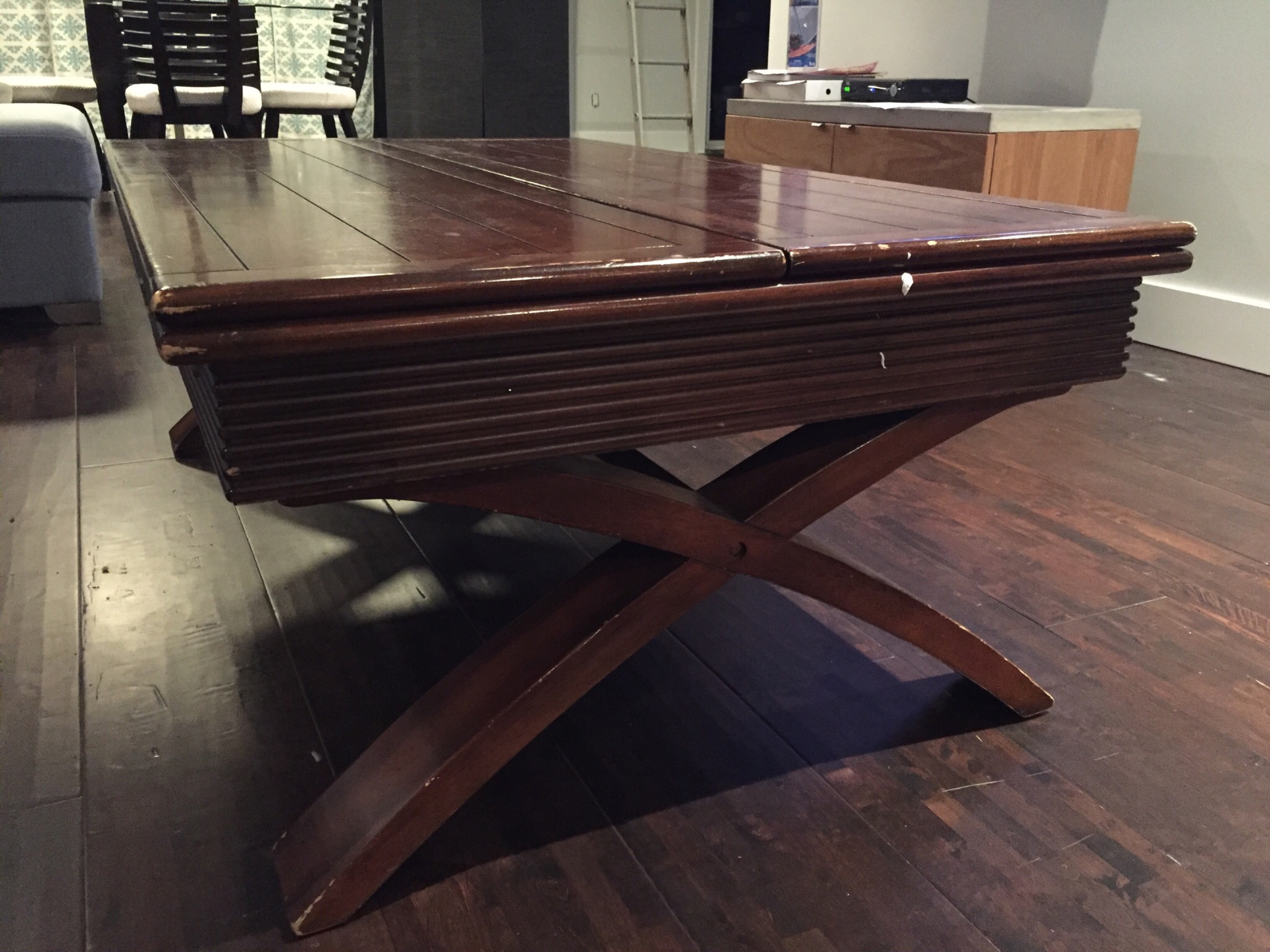 Dreamhouse Project coffee table side view