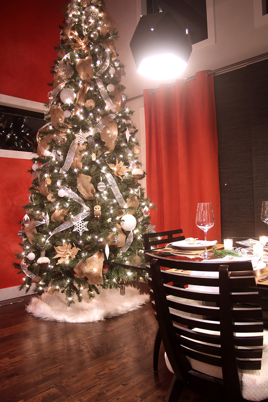 Dreamhouse Project rustic glam Christmas tree