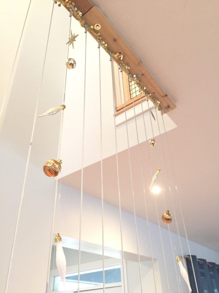 DIY Ornament String Garland