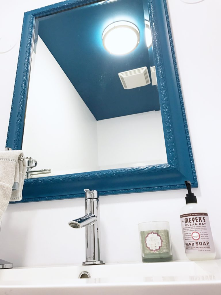 powder room mirror