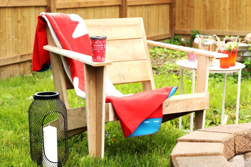 DIY Modern Muskoka Chair