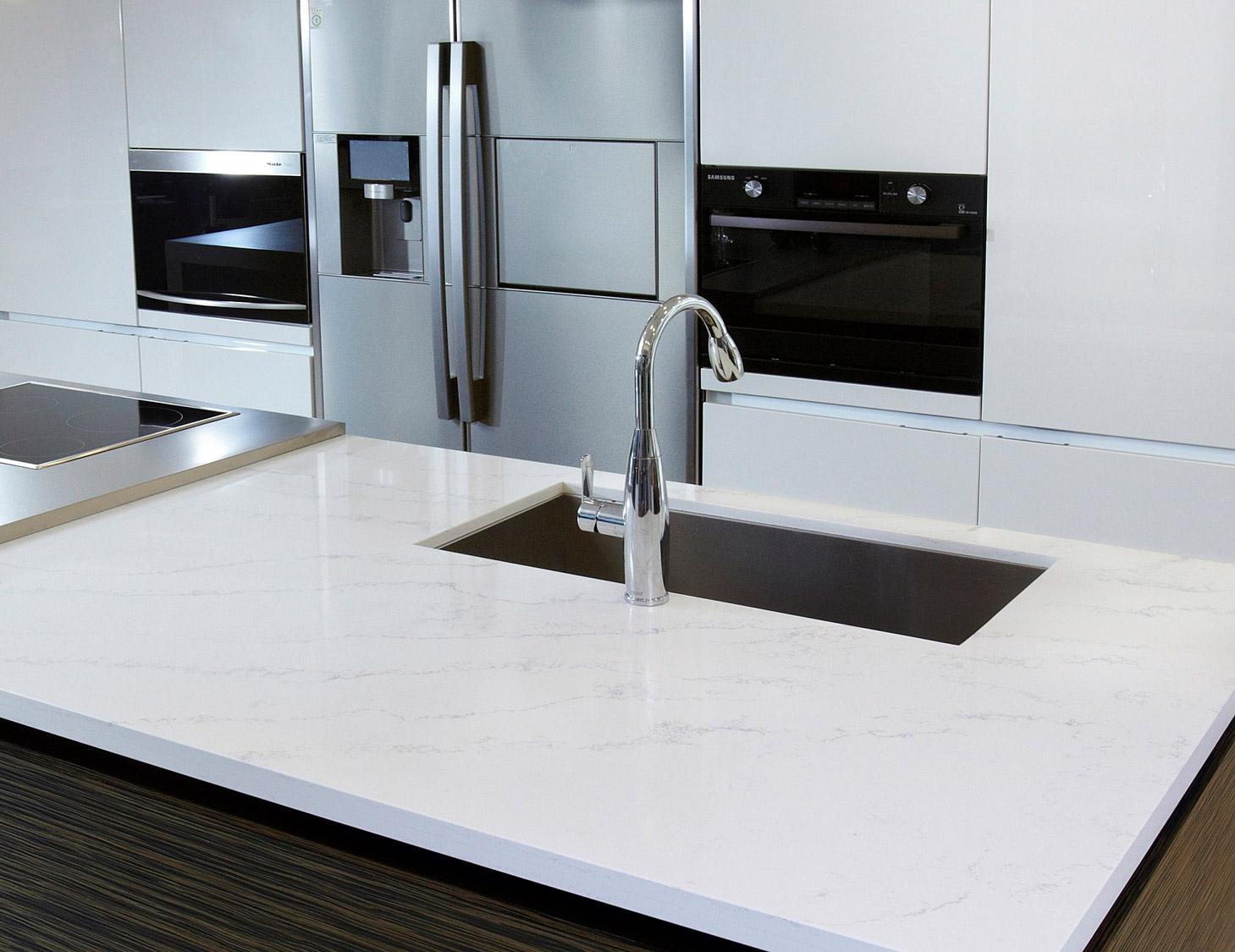 HanStone Quartz Countertops - GLACIER COLLECTION - Tranquility