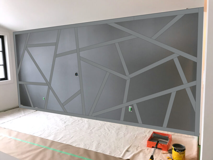 Geometric feature wall conceptualization
