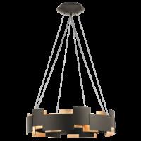 Kichler Moderne 2 Light LED Chandelier/Pendant in Olde Bronze