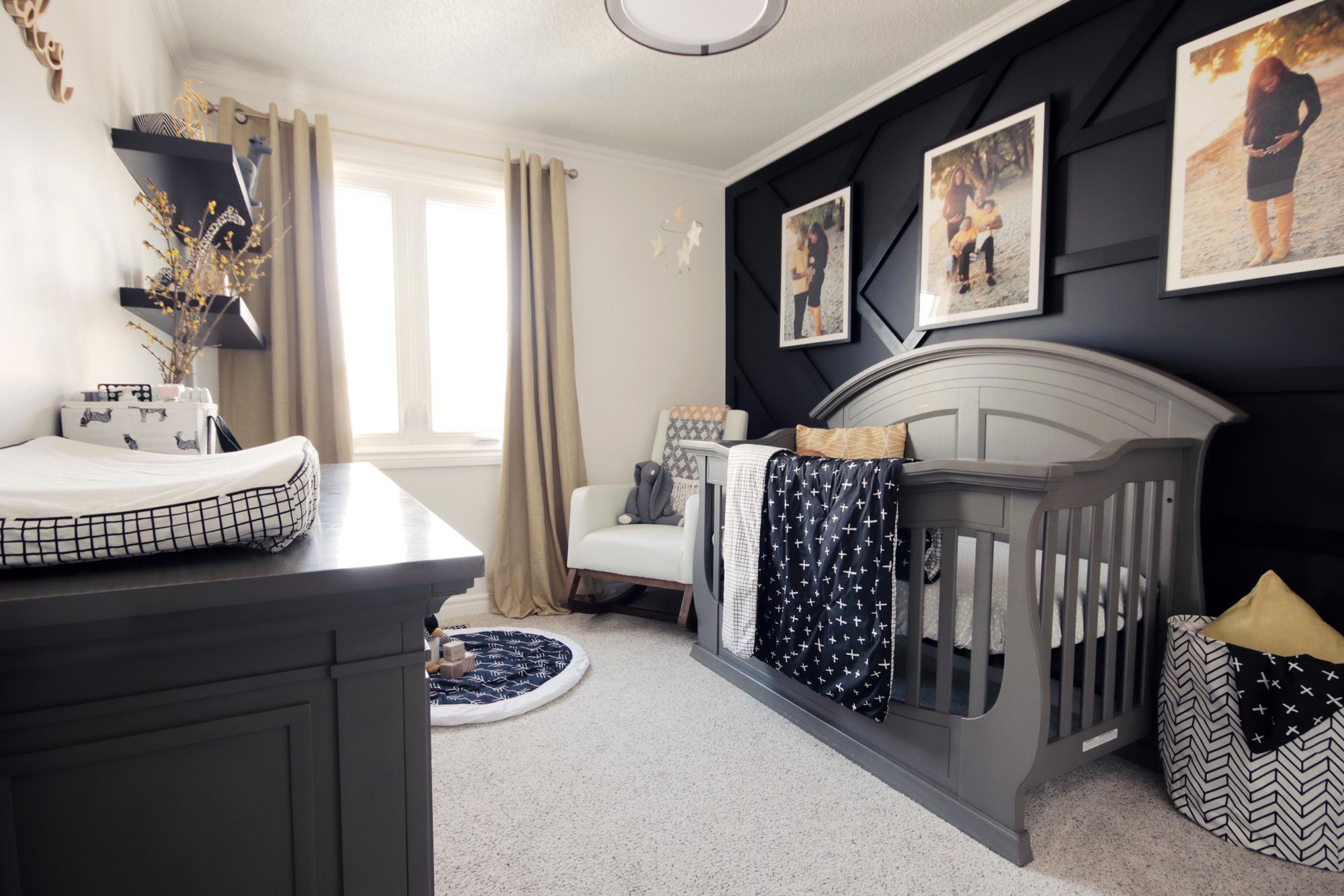 Bold Beautiful Nursery Reveal