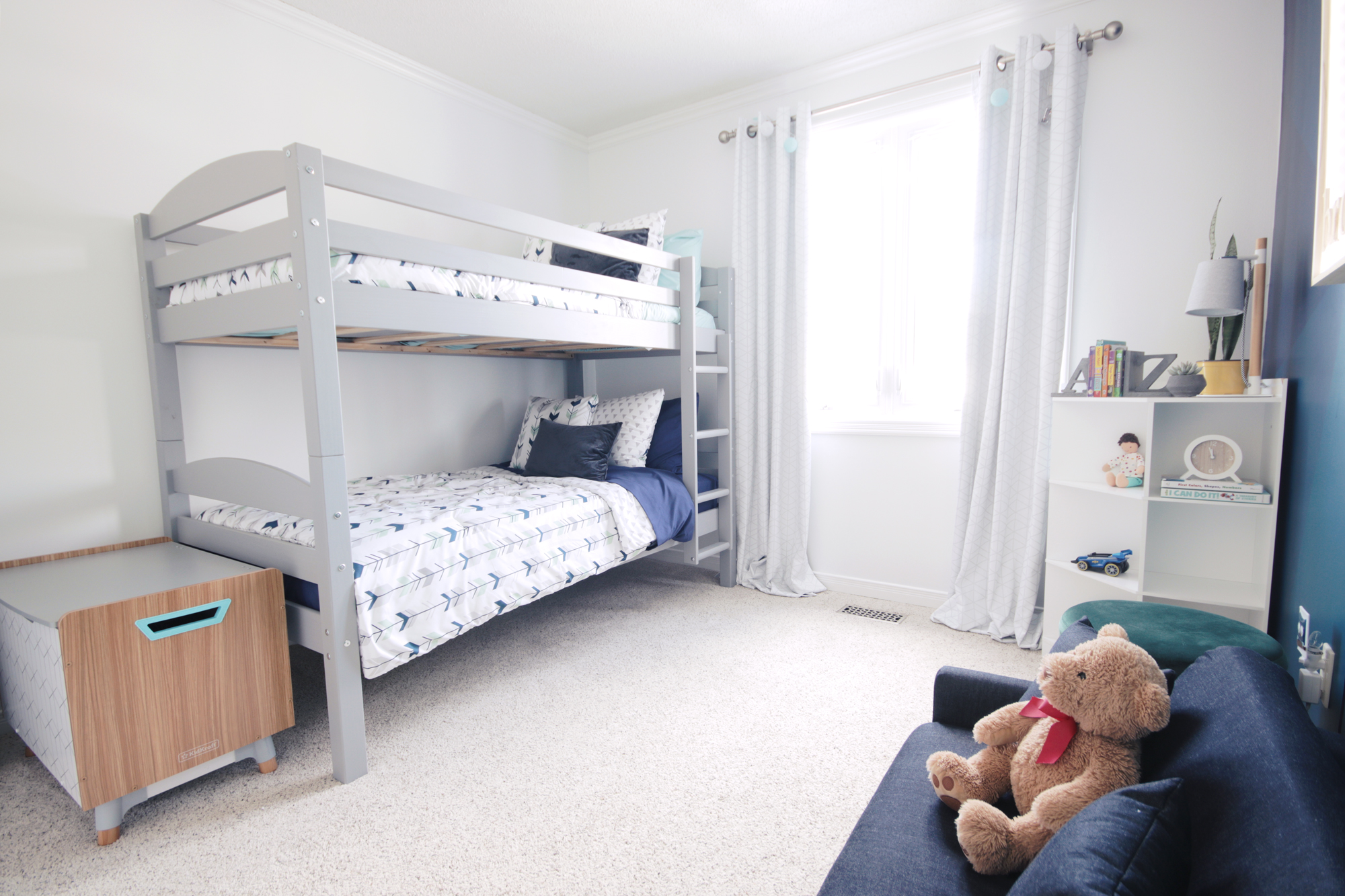 Bright and Playful Boys Bedroom Reveal